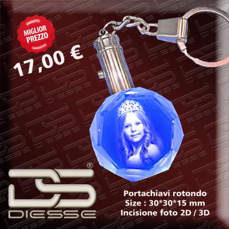 incisioni 3D cristallo , foto 3d su cristallo , incisioni nel cristallo  , incisioni laser 3d